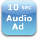 10 second audio ad