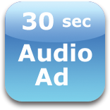 30 second audio ad