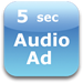5 second audio ad